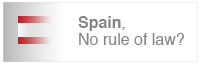 Spain, no rule of law?